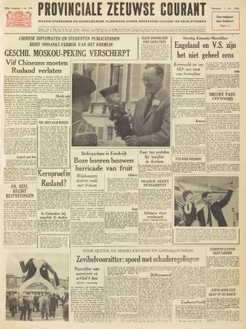 Provinciale Zeeuwse Courant 1963-07-01