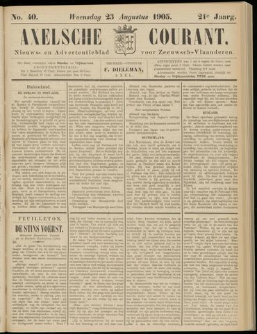 Axelsche Courant 1905-08-23