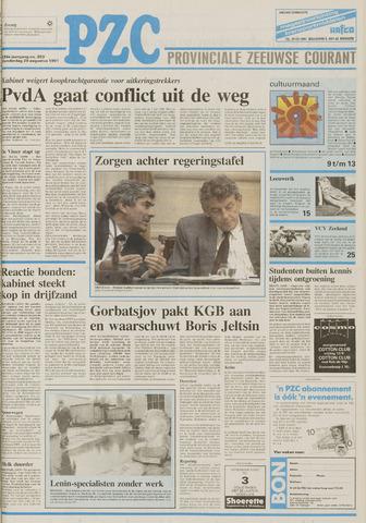 Provinciale Zeeuwse Courant 1991-08-29