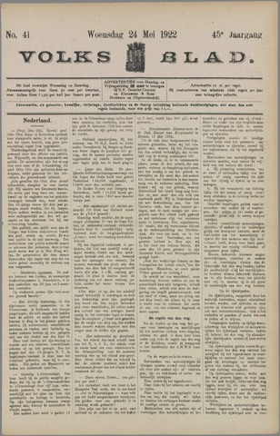 Volksblad 1922-05-24