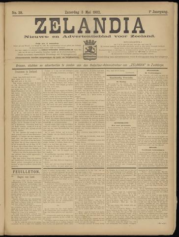 Zelandia. Nieuws-en advertentieblad voor Zeeland | edities: Het Land van Hulst en De Vier Ambachten 1902-05-03