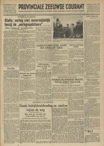 Provinciale Zeeuwse Courant 1951-02-17