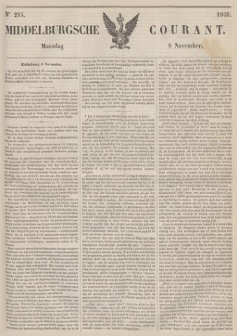 Middelburgsche Courant 1869-11-08