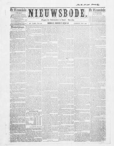 Sheboygan Nieuwsbode 1859-06-22