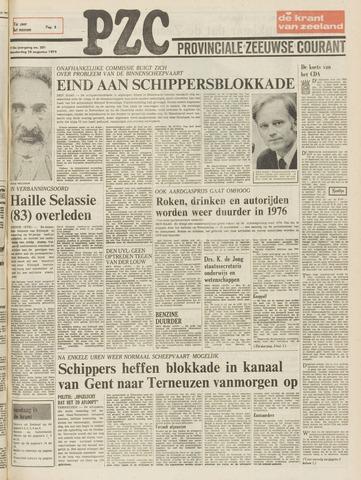 Provinciale Zeeuwse Courant 1975-08-28