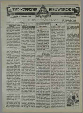 Zierikzeesche Nieuwsbode 1942-02-20