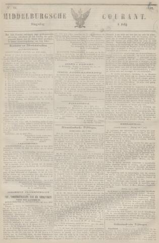 Middelburgsche Courant 1851-07-08