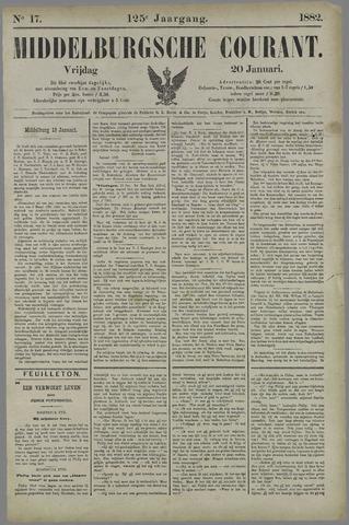 Middelburgsche Courant 1882-01-20