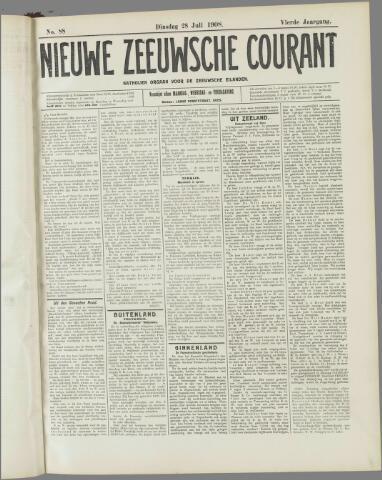 Nieuwe Zeeuwsche Courant 1908-07-28