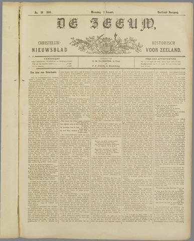 De Zeeuw. Christelijk-historisch nieuwsblad voor Zeeland 1900