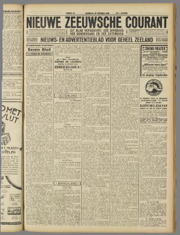 Nieuwe Zeeuwsche Courant 1930-10-25