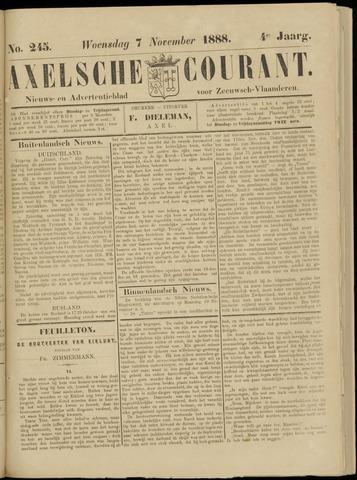 Axelsche Courant 1888-11-07