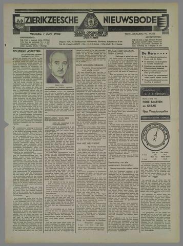 Zierikzeesche Nieuwsbode 1940-06-07