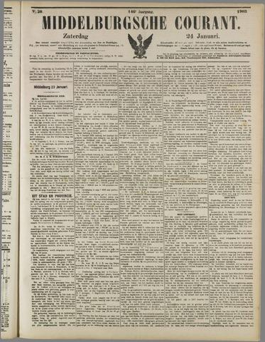 Middelburgsche Courant 1903-01-24