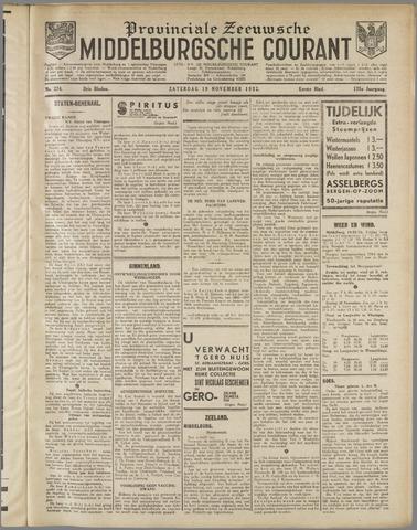 Middelburgsche Courant 1932-11-19