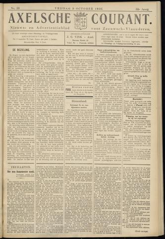 Axelsche Courant 1936-10-09