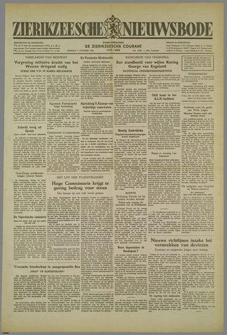 Zierikzeesche Nieuwsbode 1952-10-07