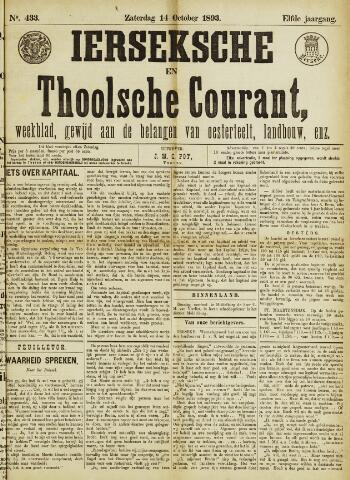Ierseksche en Thoolsche Courant 1893-10-14