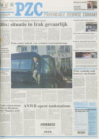 Provinciale Zeeuwse Courant 2003-01-17