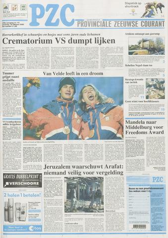 Provinciale Zeeuwse Courant 2002-02-18
