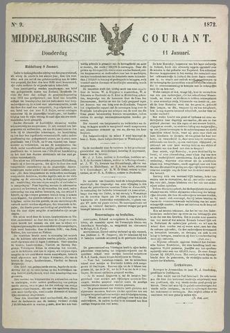 Middelburgsche Courant 1872-01-11