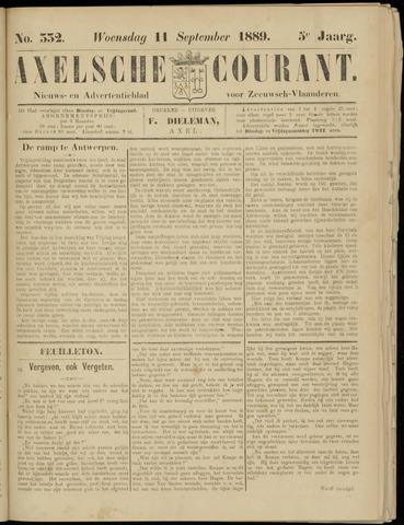 Axelsche Courant 1889-09-11