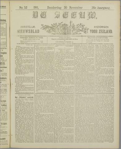 De Zeeuw. Christelijk-historisch nieuwsblad voor Zeeland 1911-11-30