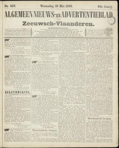 Ter Neuzensche Courant. Algemeen Nieuws- en Advertentieblad voor Zeeuwsch-Vlaanderen / Neuzensche Courant ... (idem) / (Algemeen) nieuws en advertentieblad voor Zeeuwsch-Vlaanderen 1869-05-19