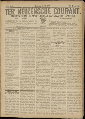 Ter Neuzensche Courant. Algemeen Nieuws- en Advertentieblad voor Zeeuwsch-Vlaanderen / Neuzensche Courant ... (idem) / (Algemeen) nieuws en advertentieblad voor Zeeuwsch-Vlaanderen 1916-07-11