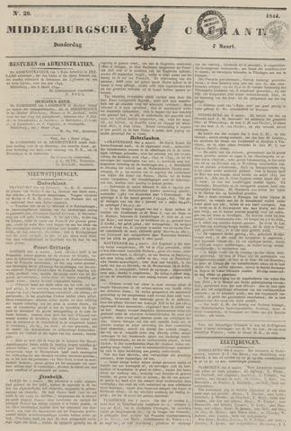 Middelburgsche Courant 1844-03-07