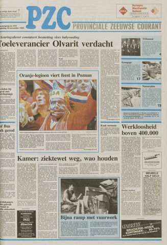 Provinciale Zeeuwse Courant 1993-11-18
