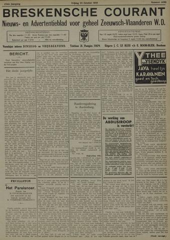 Breskensche Courant 1935-10-25