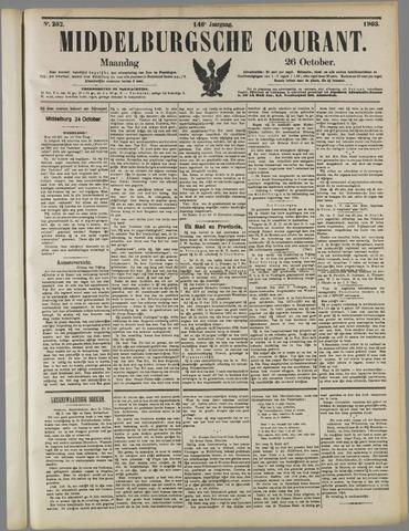 Middelburgsche Courant 1903-10-26