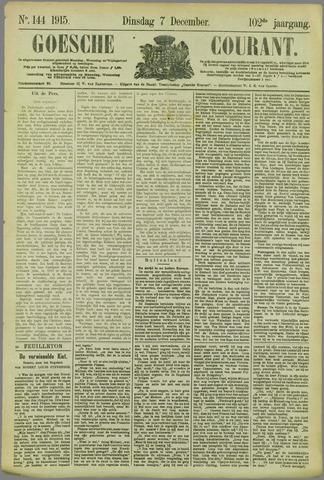 Goessche Courant 1915-12-07