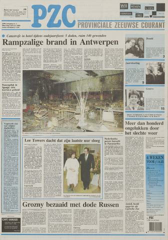Provinciale Zeeuwse Courant 1995