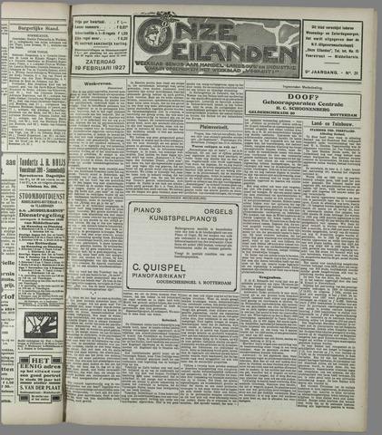 Onze Eilanden 1927-02-19