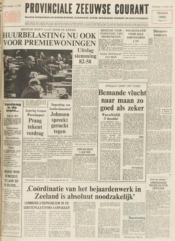 Provinciale Zeeuwse Courant 1968-10-17