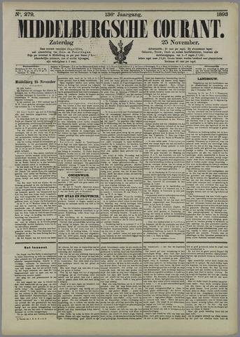 Middelburgsche Courant 1893-11-25
