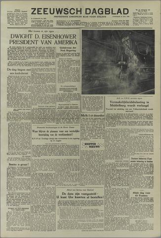 Zeeuwsch Dagblad 1953-01-21