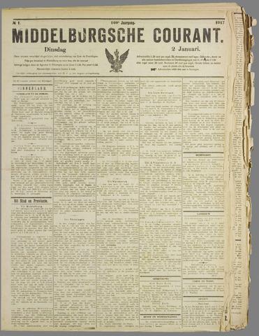 Middelburgsche Courant 1917