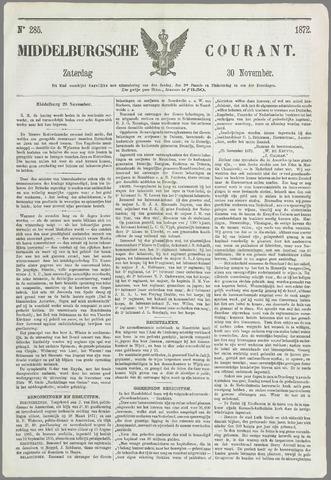Middelburgsche Courant 1872-11-30