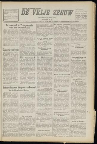 de Vrije Zeeuw 1948-04-29