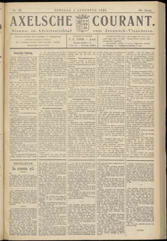 Axelsche Courant 1930-08-05