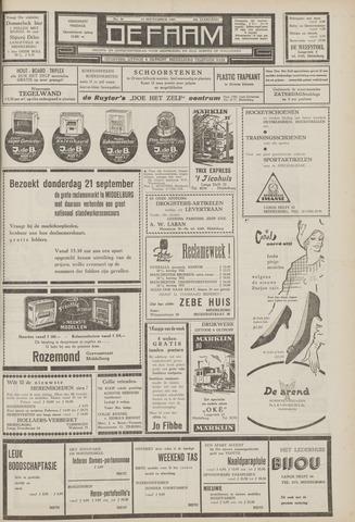 de Faam en de Faam/de Vlissinger 1961-09-15