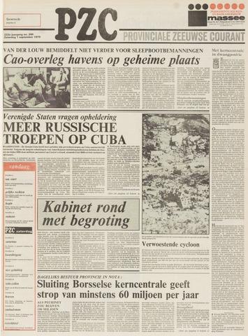 Provinciale Zeeuwse Courant 1979-09-01