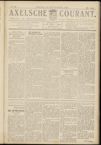 Axelsche Courant 1937-09-10