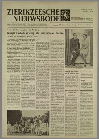 Zierikzeesche Nieuwsbode 1965-06-29