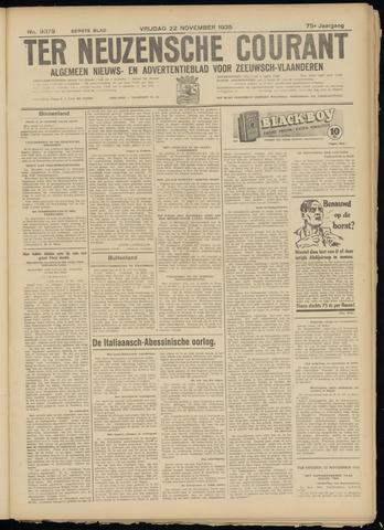 Ter Neuzensche Courant. Algemeen Nieuws- en Advertentieblad voor Zeeuwsch-Vlaanderen / Neuzensche Courant ... (idem) / (Algemeen) nieuws en advertentieblad voor Zeeuwsch-Vlaanderen 1935-11-22