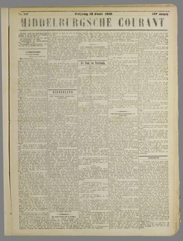 Middelburgsche Courant 1919-06-13