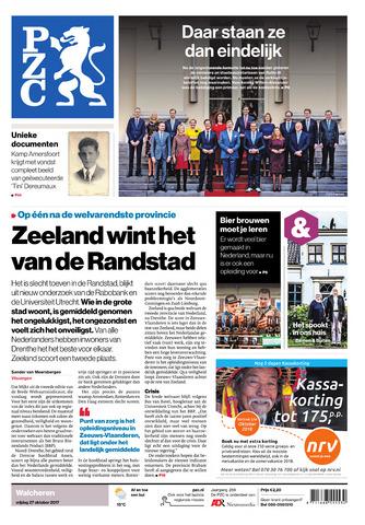 Provinciale Zeeuwse Courant 2017-10-27